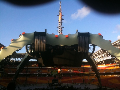 U2 360 World Tour Brisbane Nov 2010