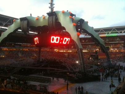 U2 360 World Tour Nov 2010